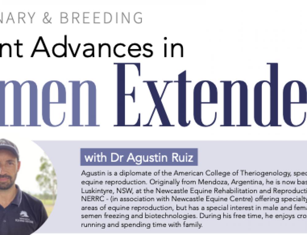Recent Advances in Semen Extenders